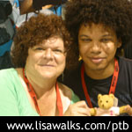 Mary Pat Gleason and Jake Smollett